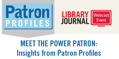PAT go2web header Meet the Power Patron: Insights from Patron Profiles