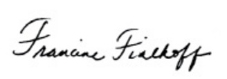 francine fialkoff signature My Farewell Editorial