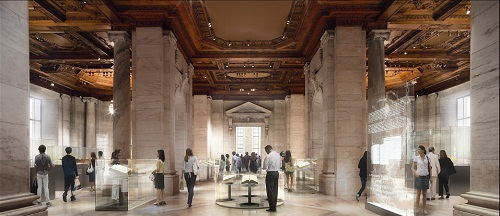 Schwarzman Conceptual Design Ambitious NYPL Renovation Back on Track