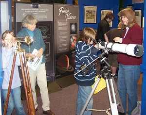 Visions exhibit at Cottage Grove library