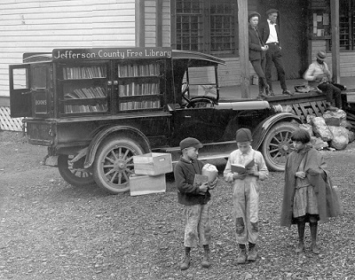 Jefferson County 1920s bookmobile