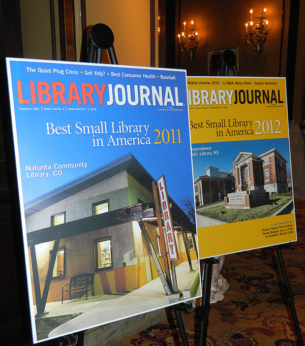 Best Small Library of the Year Reception Honors 2011 and 2012 Winners and Finalists