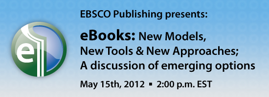 LJ eBooks 550x200 eBooks:  New Models, New Tools & New Approaches  A Discussion of Emerging Options