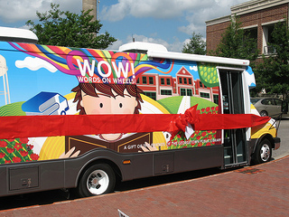 The Friends of the Georgetown Public Library raised $130,000 to buy the WOWmobile.
