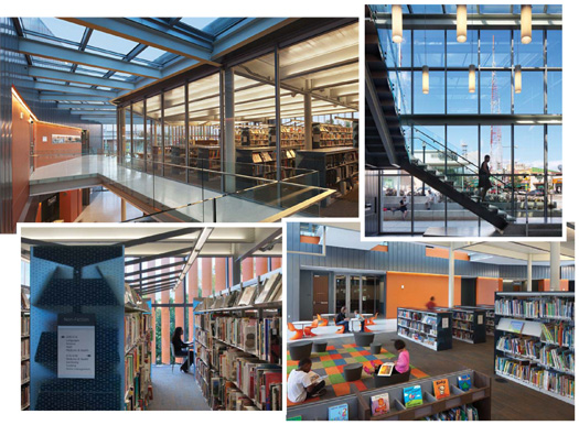 ljx120502lbdWhatsHot30 Case Study: Exceptional Lighting Turns a Library Inside Out | Library by Design