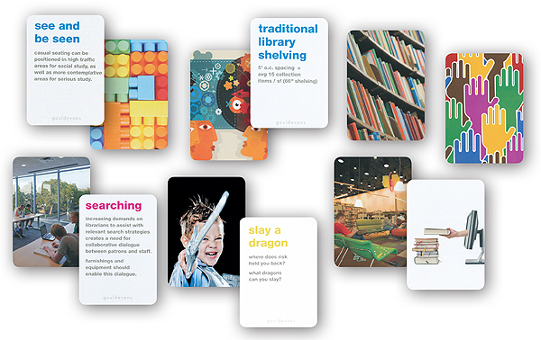 Slaying a Sacred Cow with a Deck of Cards | Library by Design, Spring 2012
