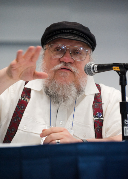 Authors speak: George R.R. Martin. Photo: Dave Feiling Photography