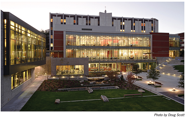 NLLwebLemieux1 New Landmark Libraries 2012 #5: Lemieux Library and McGoldrick Learning Commons, Seattle University
