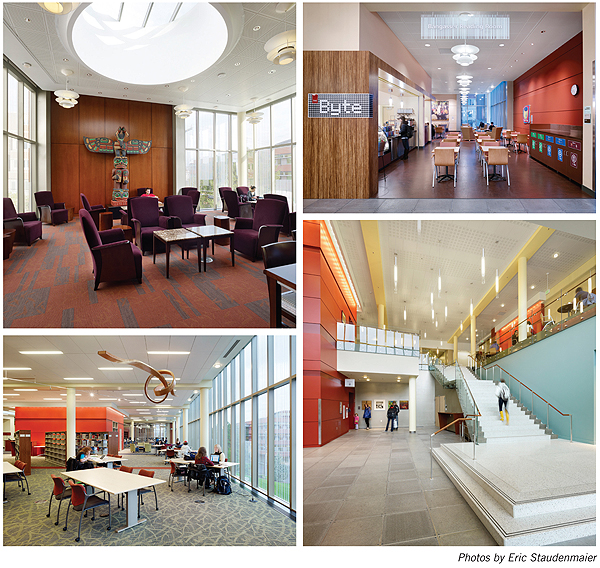 NLLwebLemieux2 New Landmark Libraries 2012 #5: Lemieux Library and McGoldrick Learning Commons, Seattle University