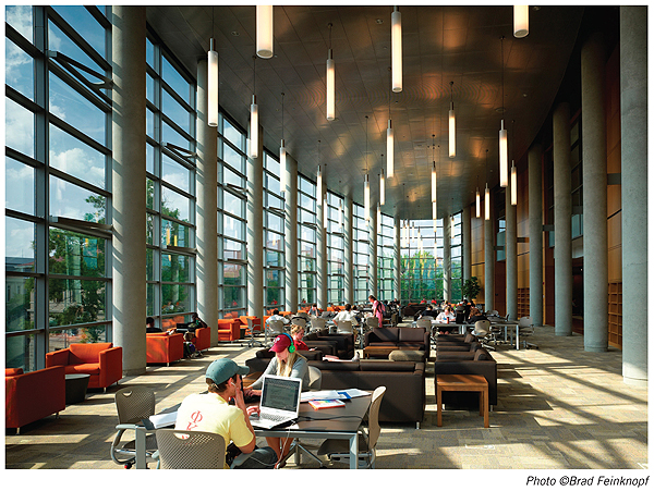 NLLwebThompson1 New Landmark Libraries 2012 #3: William Oxley Thompson Memorial Library, Ohio State University