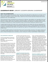 ULC brief cover Add Substance to Style: ULC's New Leadership Brief Neglects Public Library Values | Blatant Berry