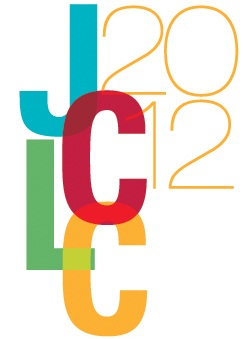 JCLC Logo Color simple Voices from the Joint Conference of Librarians of Color