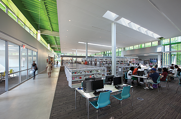 ljx120902LBDwebiidaAnacostia1 The Best of Interior Design: Public and Academic Library Winners | Library by Design