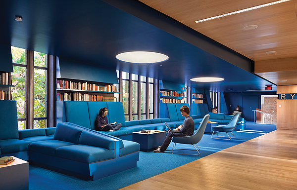 Library Design the best of interior design: public and academic library winners