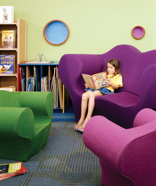 Library soup how to design library space with kids in Kids in mind