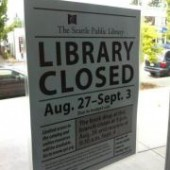 Locals Create 'People's Library' During Seattle Public Library Closure