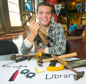 Matt LaLonde Undergrad Founds Bloomington Tool Library