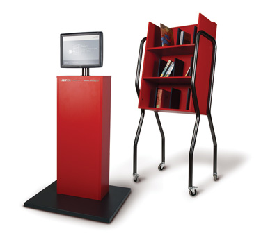 ljx120902lbdwhxwebIntelligentTrolley1 Whats Hot: The Latest in Library Products & Furnishings | Library by Design