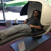 Energy Pod in Wesleyan Library