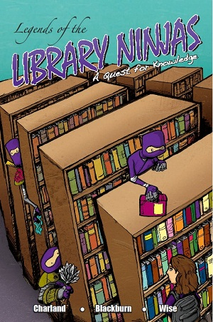 Library Ninjas comic cover