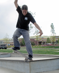 Sanchez skateboarding Auraria Skateboard Marketing Program Wins Gale Contest