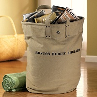 BPL tote Ten Awesome Gifts for Librarians | LJ Insider