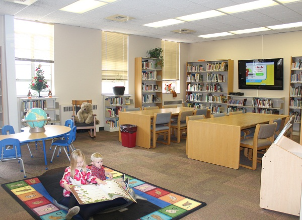 Culver-Stockton College children's library