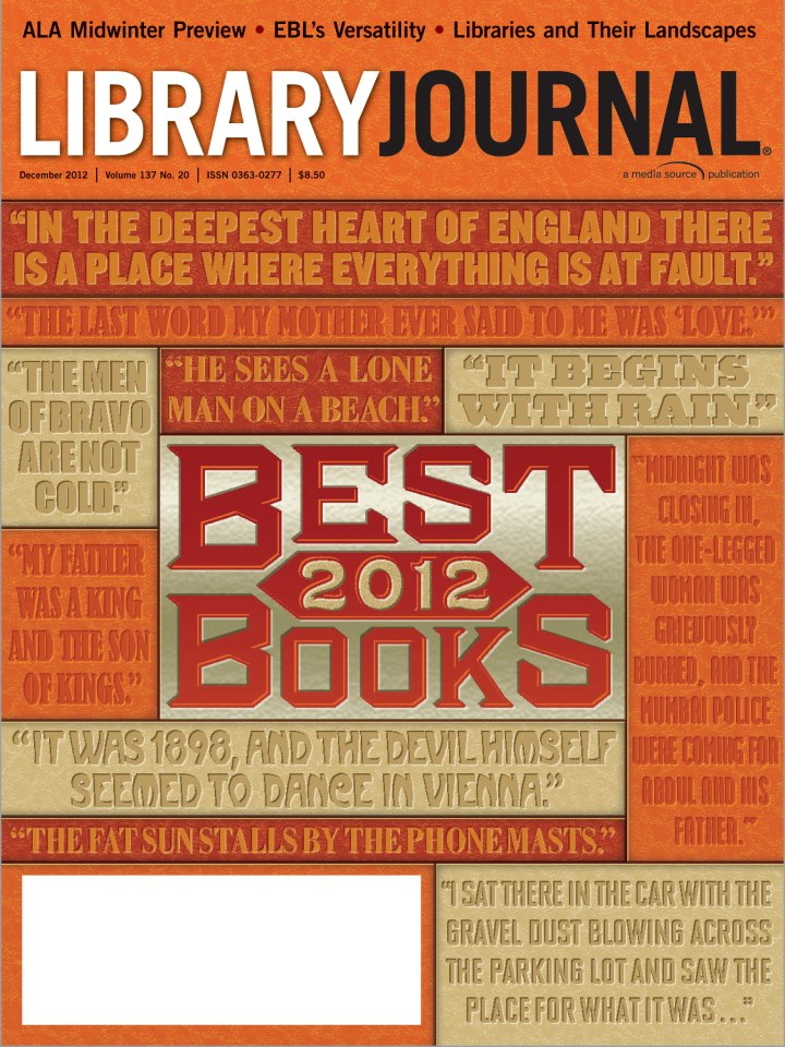 december 2012 cover LJs Best Books and Media of 2012