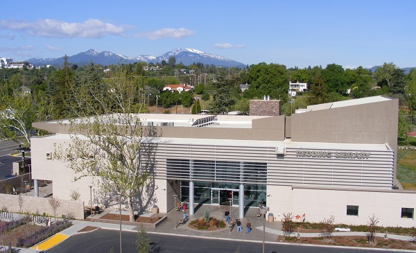 Redding library entrance Appeals Court: Redding, CA, Must Allow Leafleting in Front of Library