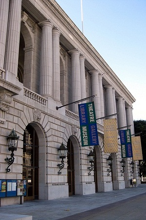VeteransWarMemorial1 SF Law Library Sues City for Space
