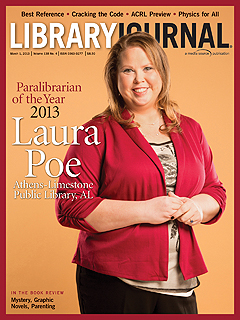 ljx130301coverLoRes1 Paralibrarian of the Year 2013: Laura Poe