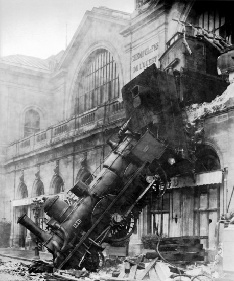 Train wreck at Montparnasse 1895 458x550 Fail4Lib: Problematic Projects Generate Constructive Conversation