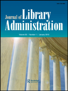 Journal of Library Administration cover
