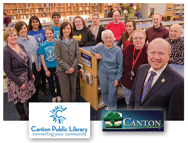 ljx130401webCanton1 LibraryAware Community Award Winner, 2013: Canton Public Library and Canton Township, MI