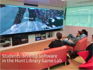 HuntLibGameLab 300x225 NCSU's Groundbreaking Hunt Library To Be Dedicated