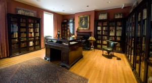 Dr. Rosenbach's personal library on the third floor of the RML.