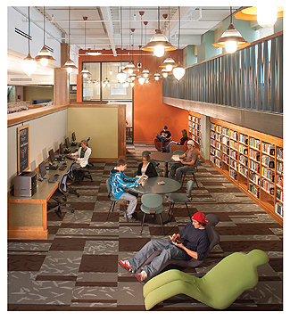 10 Steps to a Better Library Interior: Tips That Dont Have To Cost a Lot | Library by Design