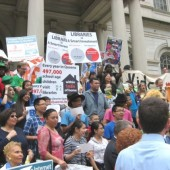 NYC Kids Rally for Libraries; City Council Members Urge Full Funding