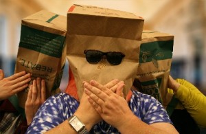 paper bags 300x195 A Teensy Tiny Survey of Seasoned Librarians | Not Dead Yet