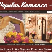 Popular Romance Project website screenshot