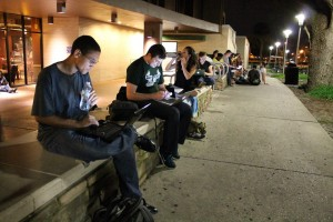 USF Briana Luis 300x200 USF Library to Return to 24 Hour Operation After Students Protest Cuts