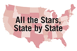ljx131101webStarLandingMap2 America's Star Libraries, 2013: Top Rated Libraries