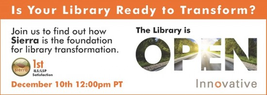RegistrationHeader Sierra 550x196 Is Your Library Ready to Transform?