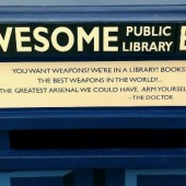 "Bigger on the Inside: Brookline (MA) Public Library's TARDIS ""Awesome Box"""