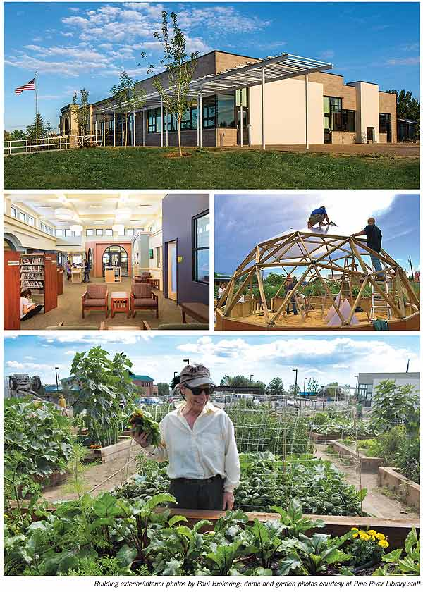 BestSmall1b  Best Small Library in America 2014: Pine River Library, CO