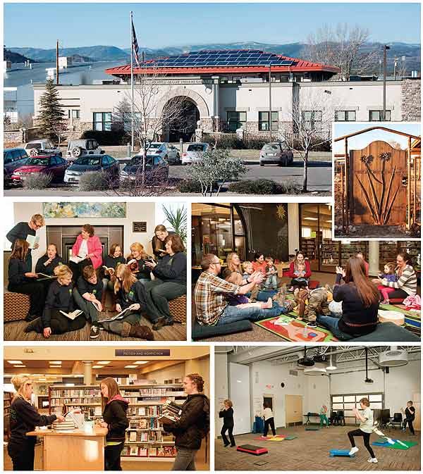BestSmall2b  Best Small Library in America 2014: Pine River Library, CO