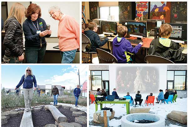 BestSmall3b  Best Small Library in America 2014: Pine River Library, CO