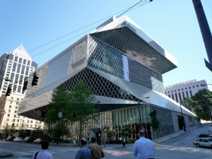 Seattle Centra lLibrary Seattle Aims to Become Second American City of Literature