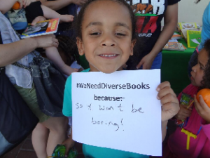 DiverseBooks 300x225 BookCon troversy: Uproar Over Lack of Diversity at BEA's Consumer Day