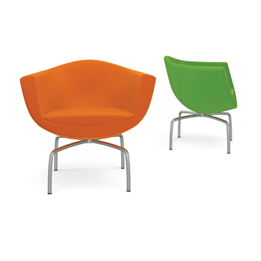 ljx140502weblbdwhAGATIFurnitureSorrisoChair What's Hot: The latest in library products & furnishings | Library by Design